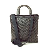 Rattan Bags / Wickerwork Wing Pattern Brief Tote