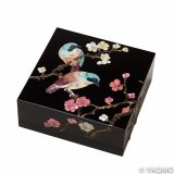 Raden Lacquerware Jewelry Box / Japanese Apricot