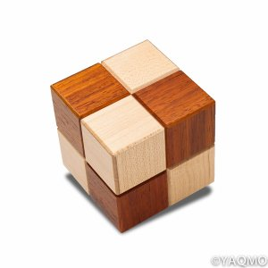 Photo1: Trick Cube No. 4/Karakuri Cube Box 4