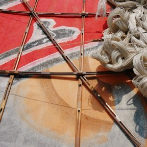 Photo2: Japanese Edo Kites /  Yakko