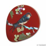 Raden Lacquerware Mirror / Grape