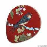 Raden Lacquerware Mirror / Grape