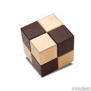 Photo1: Trick Cube No. 2/Karakuri Cube Box 2