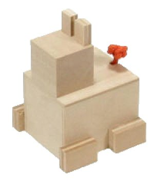 Photo1: Karakuri Self-Assembly Kit: Animal Box