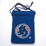 """Tote Bags /  Edo Tote Sack: """"Circle-A"""""""