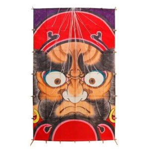 Photo1: Japanese Edo Kites /  Daruma