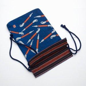"""Photo2: Tote Bags /  Edo Tote Sack: """"Pipes"""""""