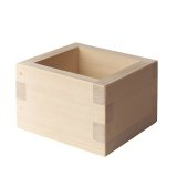 Wooden Containers and Tableware / Wooden Sake Cup (Masu)