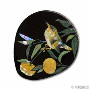 Photo: Raden Lacquerware Mirror / Citrus