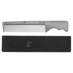 Photo: Fine Tooth Pocket-type Fluorine-Carbon Hair Comb